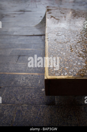 Heatherwick Studio Blue Carpet Detail in Newcastle upon Tyne - Stock Photo
