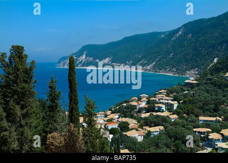Agios Nikitas, Lefkas, Ionian Islands, Greece - Stock Photo