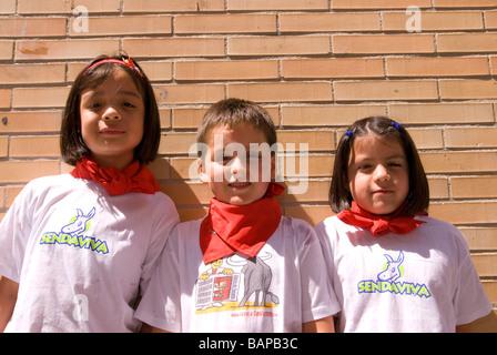 Fiestas in Spain - Stock Photo