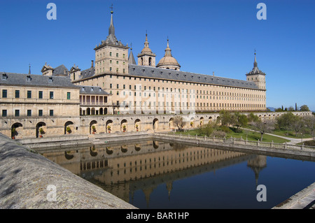 El Escorial Spanish Royal Residence - Stock Photo