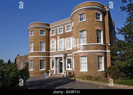 William Morris Gallery in Walthamstow - Stock Photo