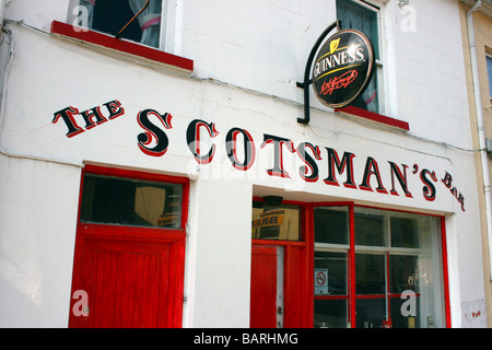 The Scotsman's Bar, old Irish pub in Donegal town, Ireland - Stock Photo