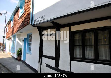 Wool Lane, Midhurst, West Sussex, England, United Kingdom - Stock Photo