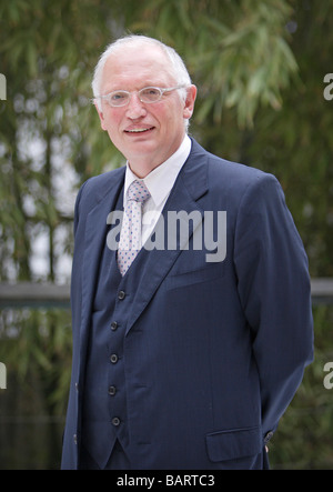 Guenter VERHEUGEN Vice President of the European Commission responsible for enterprise and industry - Stock Photo