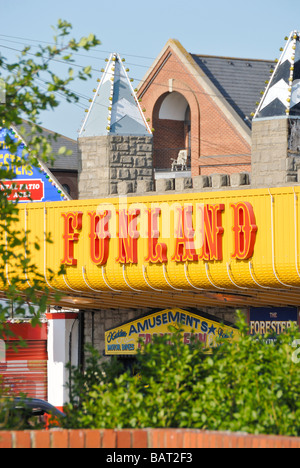 Funland Southend on Sea Essex England UK - Stock Photo