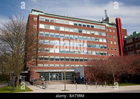 Chemistry Building, Brunswick Street, The University of Manchester, UK - Stock Photo