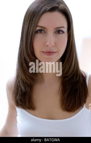 Smiling woman. - Stock Photo