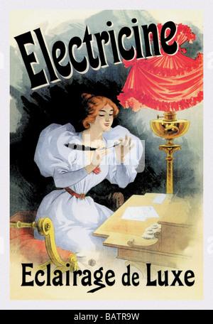 Electricine - Eclairage de Luxe - Stock Photo