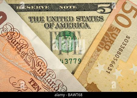currency exchange - Stock Photo