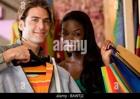 shopping couple - Stock Photo