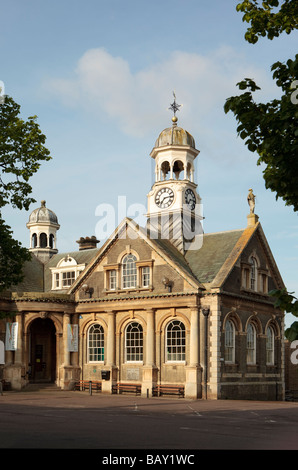 Thetford Guildhall on Market Place - Stock Photo
