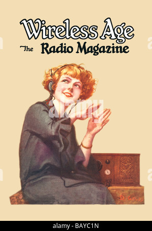 Wireless Age: The Radio Magazine - Stock Photo