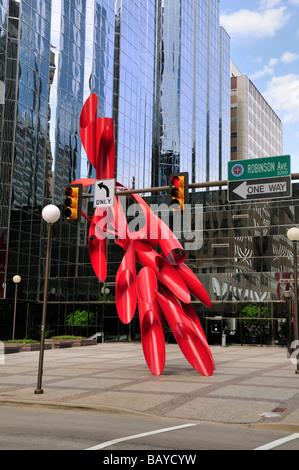 Leadership square Oklahoma City - Stock Photo