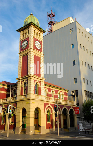 Redfern Post Office Sydney, with clock tower. The architecture is typical of Victorian post office buildings in - Stock Photo