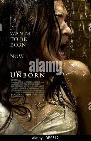 The Unborn Year : 2009 Director : David S. Goyer Odette Yustman Movie poster (USA) - Stock Photo