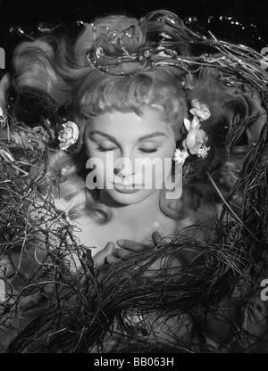 Hamlet  Year : 1948 UK Director : Laurence Olivier Jean Simmons  After the play of William Shakespeare - Stock Photo