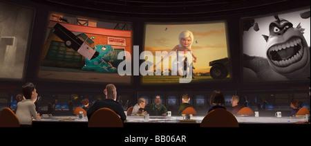 Monsters vs. Aliens Year : 2009 Directors : Rob Letterman, Conrad Vernon Animation - Stock Photo