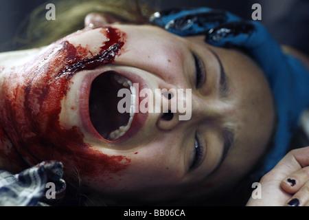 Scar Year : 2007 Director : Jed Weintrob  Brittney Wilson - Stock Photo