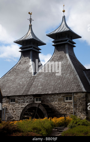 Owned by The Seagram Co Ltd.  Scottish Whisky Distillery at Strathisla, Keith, Grampian,Scotland, UK - Stock Photo