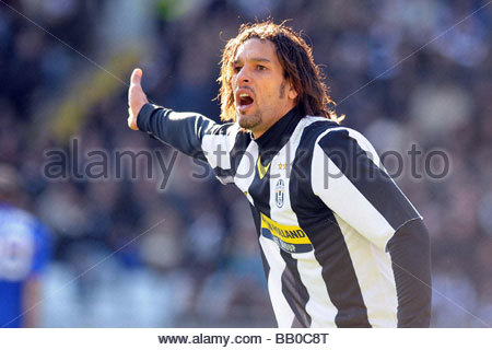 amauri,torino 2009,serie a football championship 2008-2009,juventus-sampdoria - Stock Photo