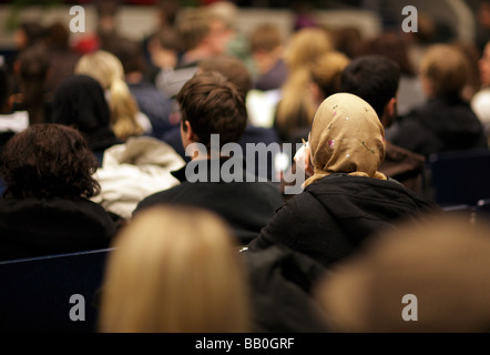 Students at Technical University of Berlin - Stock Photo