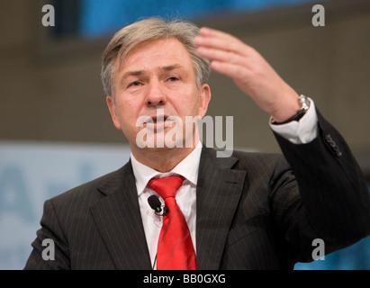 Klaus WOWEREIT SPD Governing Mayor of Berlin - Stock Photo