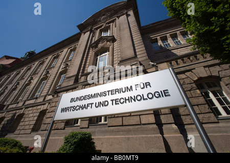 Federal Ministry for economy and technology - Stock Photo