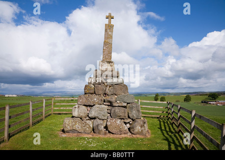 Witch Memorial, Dunning, Perth and Kinross, Scotland - Stock Photo