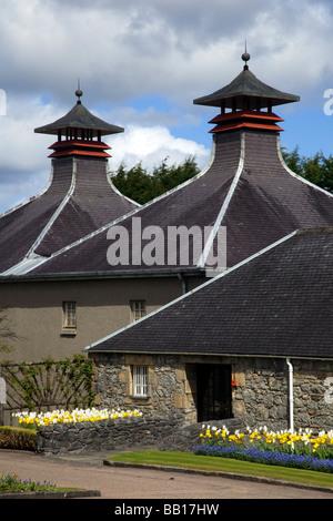 The Seagram Co Ltd.  Scottish Whisky Distillery at Strathisla, Keith, Grampian,Scotland, UK - Stock Photo