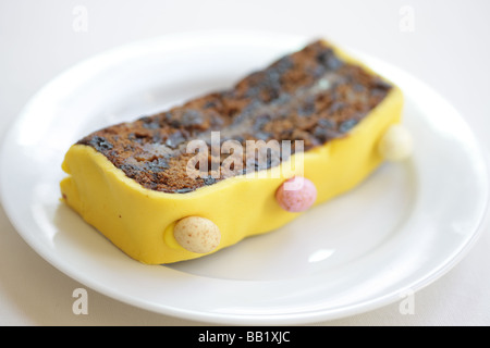 Easter Simnel Cake - Stock Photo