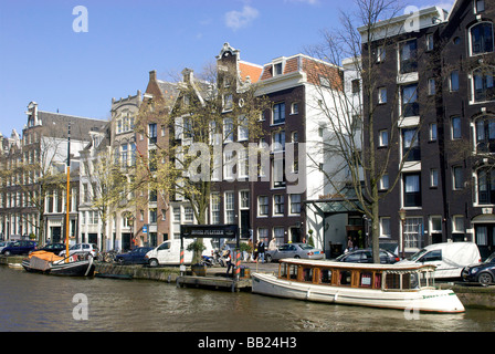 Europe, Netherlands, South Holland, Amsterdam, Hotel Pulitzer - Stock Photo