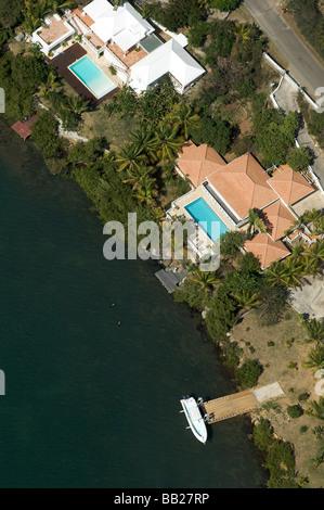 aerial antillen antilles bovenwinden bovenwindse caribbean day daytime dutch eiland eilanden elevated view french horizontal ind