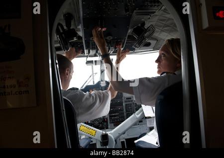 aerial air aircraft airline airplane antillen antilles bovenwinden bovenwindse caribbean cockpit day daytime descend descending