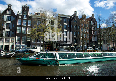 Europe, Netherlands, South Holland, Amsterdam, Prinsengracht, Hotel Pulitzer - Stock Photo
