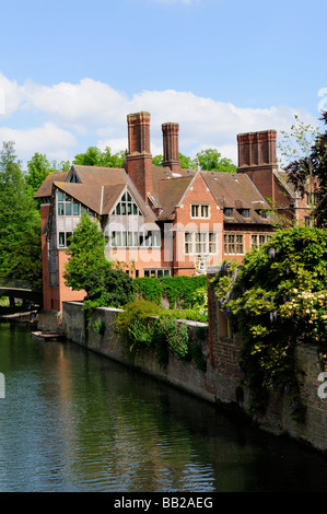 Jerwood Library at Trinity Hall College Cambridge England Uk - Stock Photo