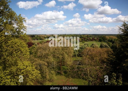 View Of The Berkshire Countryside From Walls Windsor Castle