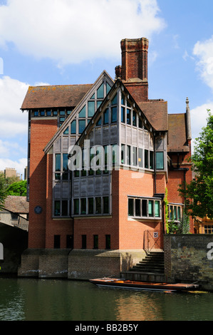 The Jerwood Library  at Trinity Hall College Cambridge England Uk - Stock Photo