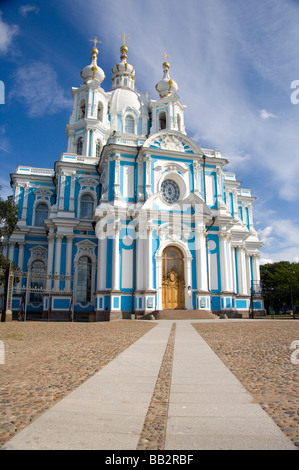Russia, St. Petersburg, Nevsky Prospect, Smolny Convent. (RF) - Stock Photo