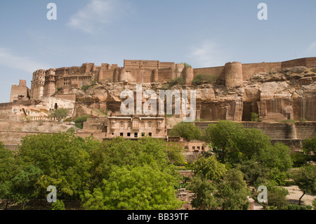 Jodhpur in Rajasthan, India - Stock Photo