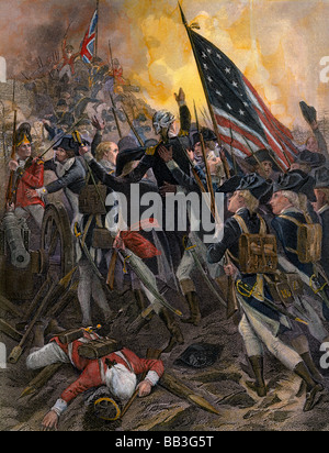 1700s 1770s American Flag With 13 Stars Representing The