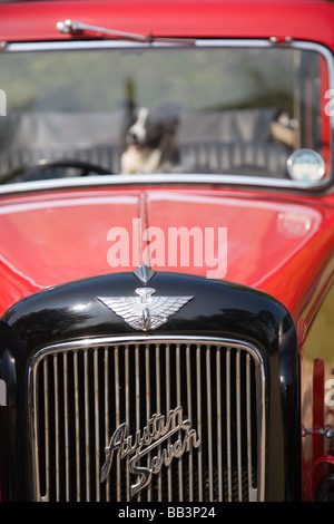 Austin Seven classic car produced from 1922 through to 1939 in the United Kingdom - Stock Photo