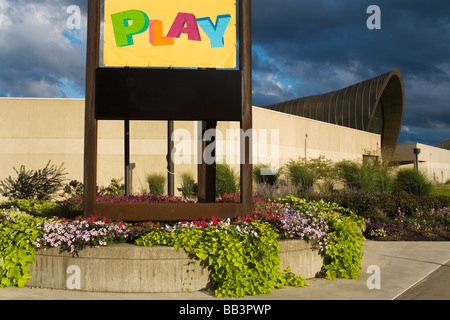 Strong National Museum of Play; Rochester, New York, USA - Stock Photo
