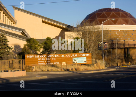 NA, USA, New Mexico, Albuquerque, Old Town, Museum of Natural History - Stock Photo