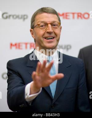 Eckhard CORDES CEO of Metro AG Duesseldorf - Stock Photo