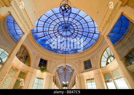 GALERIE VIVIENNE PARIS FRANCE - Stock Photo