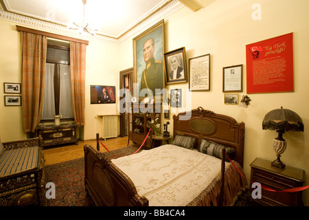Pera Palas Hotel, Istanbul, Turkey. Ataturk's room - Stock Photo