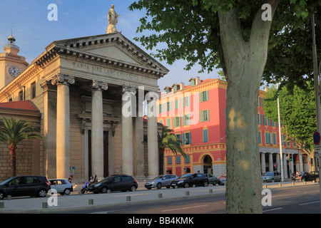 Notre Dame du Port church near the port in Nice Cote d'Azur, France - Stock Photo