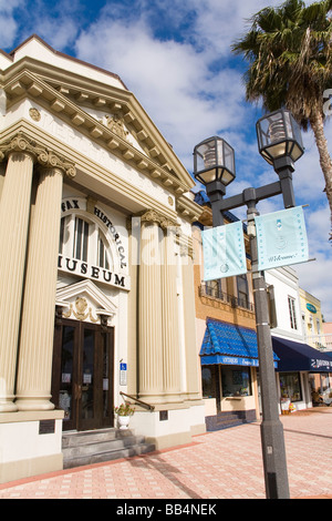 Halifax Historical Museum; Beach Street, Daytona, Florida, USA - Stock Photo
