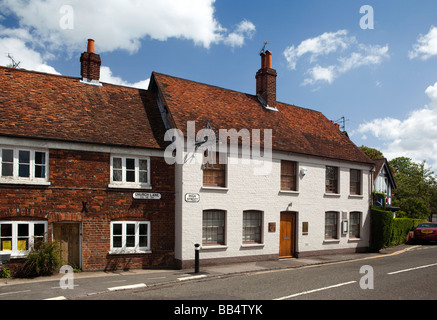 England Berkshire Bray Village High Street Fat Duck restaurant - Stock Photo