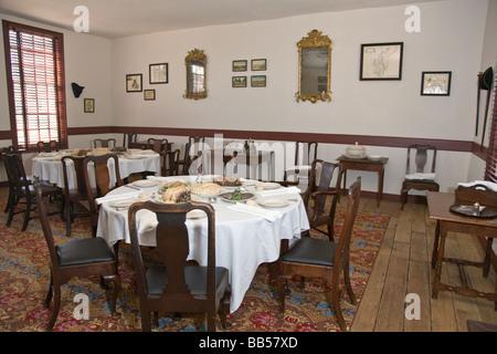 Interior Of Wetherburn 39 S Tavern In Colonial Williamsburg Virginia Stock Photo Royalty Free